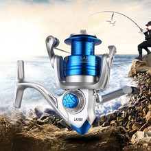Metal Coil Spinning Fishing Reel 13 Ball Bearing 1000-6000 Series 5.2:1 Boat Rock Reels fishing tackle
