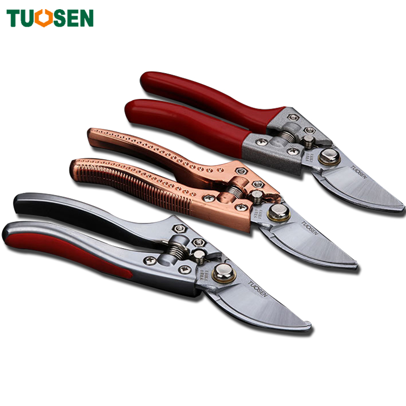 Tuosen 1piece sk5 pruners garden tools secateurs bonsai for Gardening tools pruning