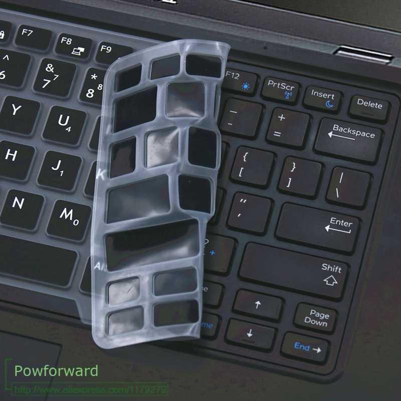 غطاء لوحة مفاتيح الكمبيوتر المحمول الجلد لديل Latitude 7490 5480 5490 غطاء لوحة المفاتيح لديل 3340 E3340 E5450 E5470 E7450 14 بوصة