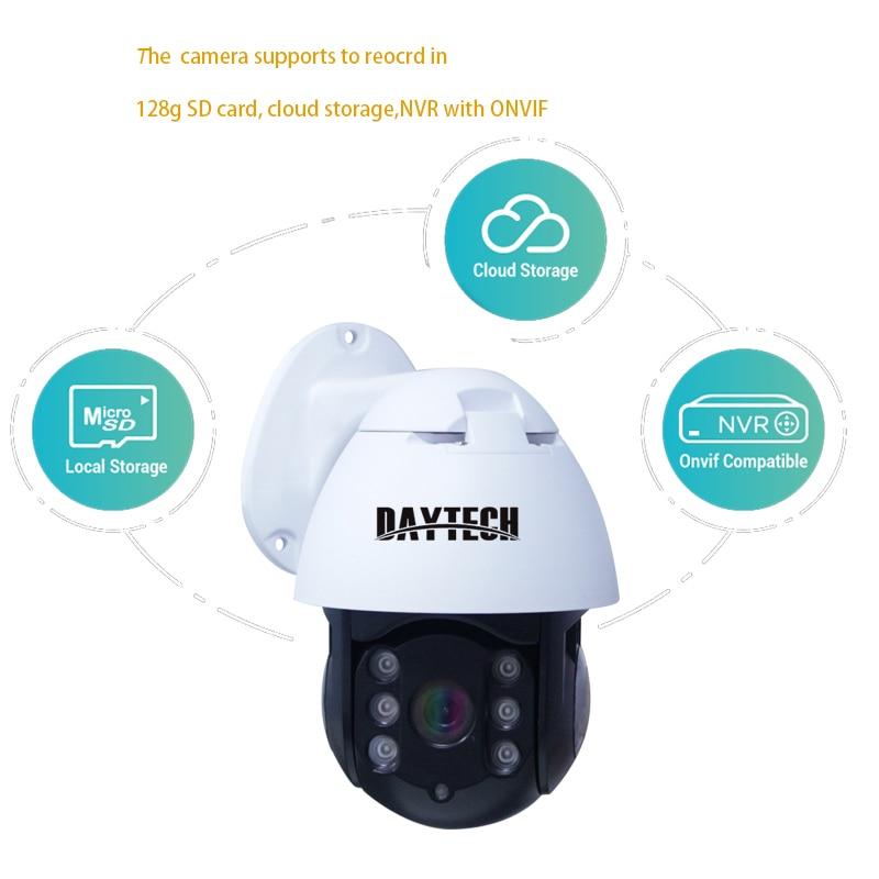 DAYTECH 1080P WiFi IP Camera Waterproof Outdoor CCTV Home Surveillance ONVIF 2MP Network P2P Recording Monitor