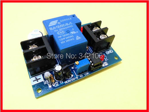 Free Shipping!!! Universal 12V battery against excessive discharge controller / Low / undervoltage protection