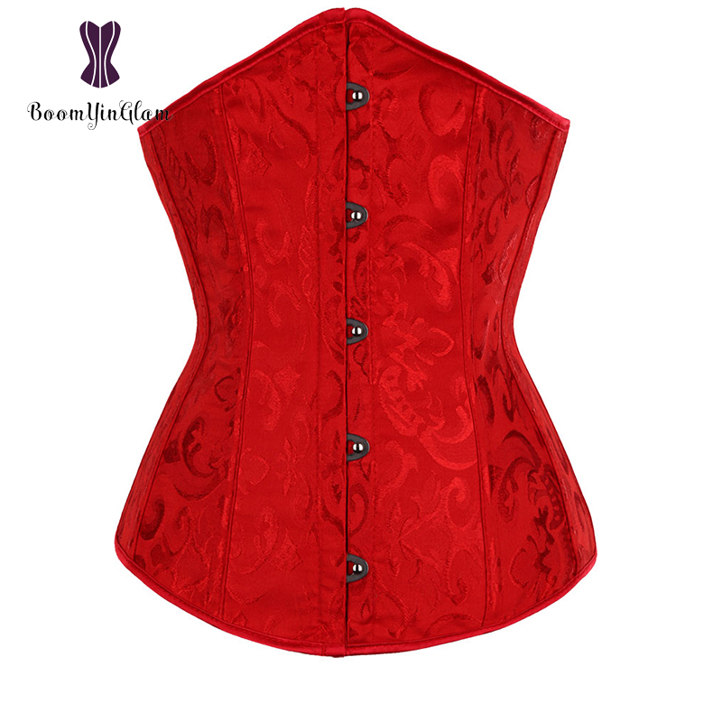 """Žakardo viršuje esančios """"Korsett"""" moteriškos liemens formos kasdieninės juosmens formos drabužiai Bodinio liemens """"Cinchers"""" korsetai su G styga 2833 #"""