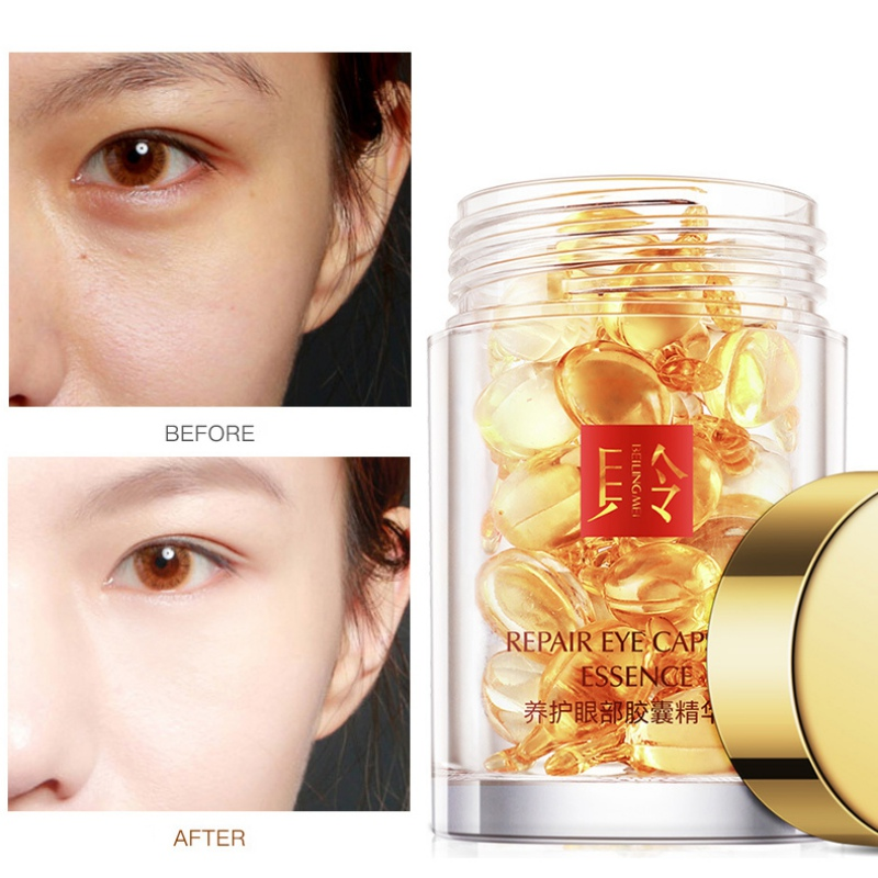 Pearls Face Cream Whitening Moisturizing Anti Wrinkle + Images Gold Eye Cream Dark Circles Remover Eye Bag Skin Care