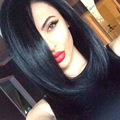 12''Long Black bob Wig Cute Wig Synthetic Black Women Hairstyles Cheap Synthetic Wigs For Black Women Natural Female Wig Cosplay