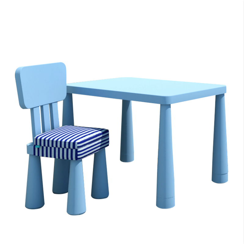 Kindergarten Simple Plastic Toy Table Kids Study Desk Multifunction Table and Chair Set Household Small Stable Leisure Table Стол