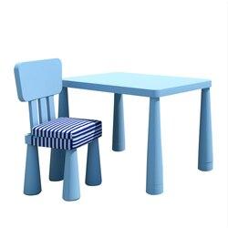 Przedszkole prosta plastikowa zabawka stół dzieci biurko szkolne wielofunkcyjny stół i krzesło zestaw gospodarstwa domowego mały stabilny stół ogrodowy