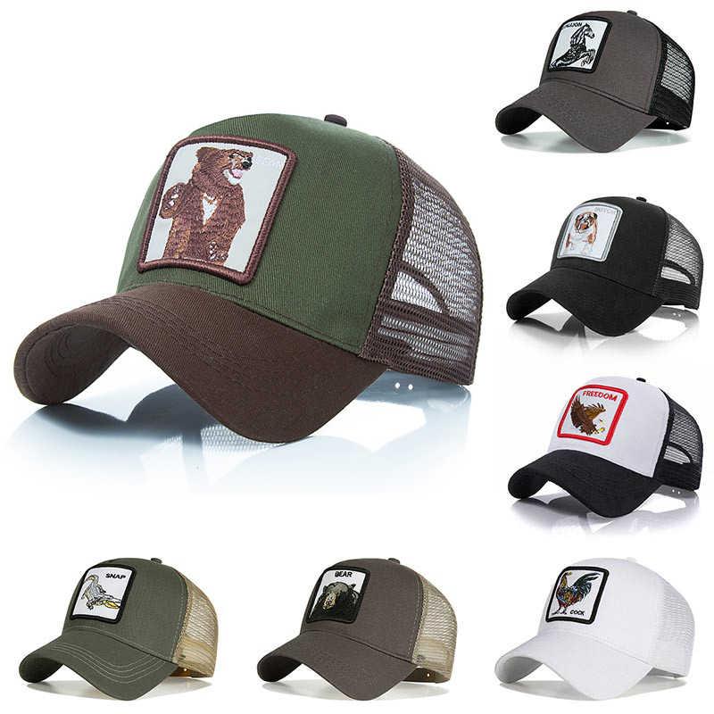 2022d0a91 Fashion Embroidery Baseball Caps gorra animal Hat Men Women Snapback ...