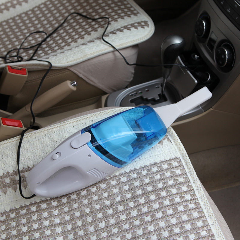 Promotion Portable Car Vacuum Cleaner Car Styling Auto Cleaner 60W High Suction Mini Car ...