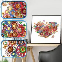 New 5 Styles DIY Special Shape 5D Diamond Painting By Number Kits Handmade Picture Art Craft For Home Wall Decor
