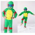 TMNT Traje Muscular Halloween Costume Crianças Costume Role Play Cosplay Anime Teenage Mutant Ninja Turtles Disfraces Carnaval
