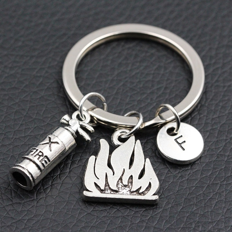 Human Body Skeletons Rack Keychain jewelry Silver Pendant key Chain Ring UK 2019