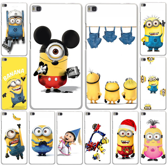 Trendy Despicable Me White Hard Phone Case