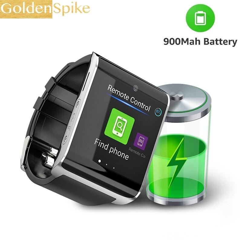 DM2018 PK LEM7 Z28 4g montre intelligente 1.54 pouce Sport GPS smartwatch téléphone Android 6.0 Bluetooth 4.0 Fréquence cardiaque podomètre de moniteur