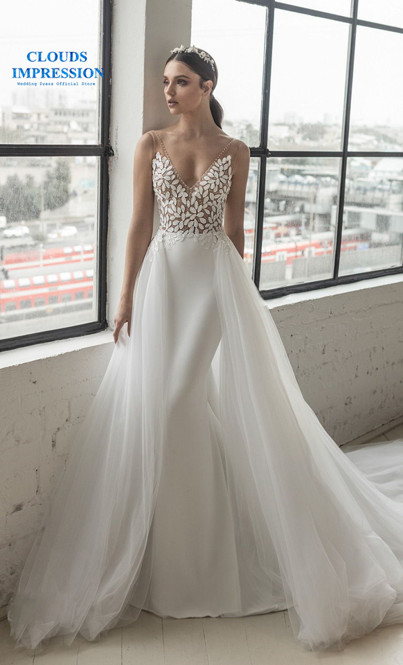Wedding Dress Two Piece Bridal Tulle