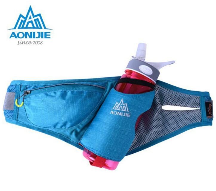 AONIJIE Sports Marathon Hydration Belt Running Free Running Accessories Water Belt Fanny