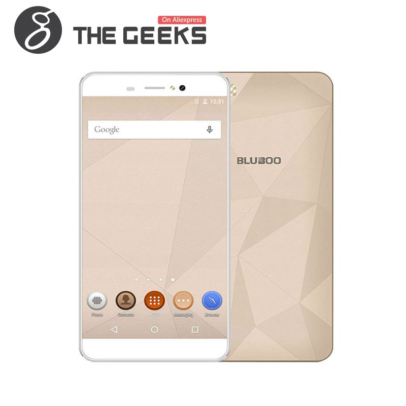 Цена за Оригинал пикассо 4 г lte смартфон bluboo mtk6735 2 г ram 16 ГБ rom Android 6.0 На Мобильный 5.0 Дюймов HD Экран 13.0MP Мобильный телефон