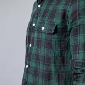 Image 5 - SIMWOOD 2020 summer new shirt men plaid 100% linen shirts fashion casual breathable cool plus size brand clothing 190203