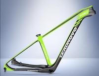 29er недавно для горного велосипеда, карбоновая рама труба из углеродистого волокна 3 k саржевого 15,5/17/19 дюймов BB92 рама для горного велосипеда
