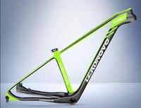 29er недавно mtb углерода велосипеда 3 К твил 15,5/17/19 дюймов Рама для горного велосипеда bicicletas горный велосипед carbono кадров