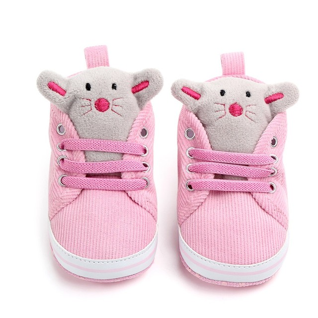 2019 Do Bebê Da Menina do Menino sapatos Casuais cinta sapato de boneca dos desenhos animados fundo macio da criança do bebê shoes Zapatos # YL