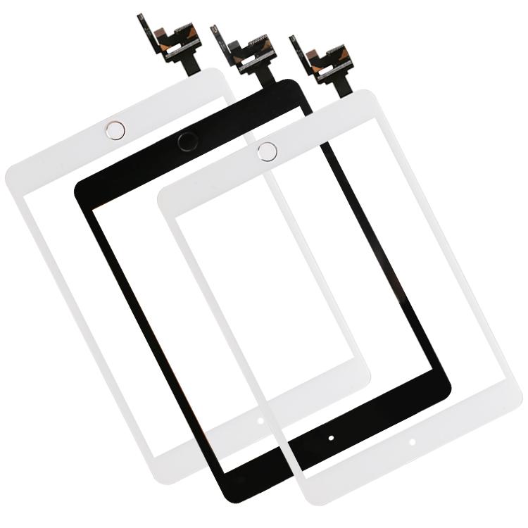 Prix pour Livraison par DHL ou Ems Écran Tactile complété avec ic pour iPad Mini3 mini 3 Digitizer Assemblée avec IC & Home Bouton Capteur Flex