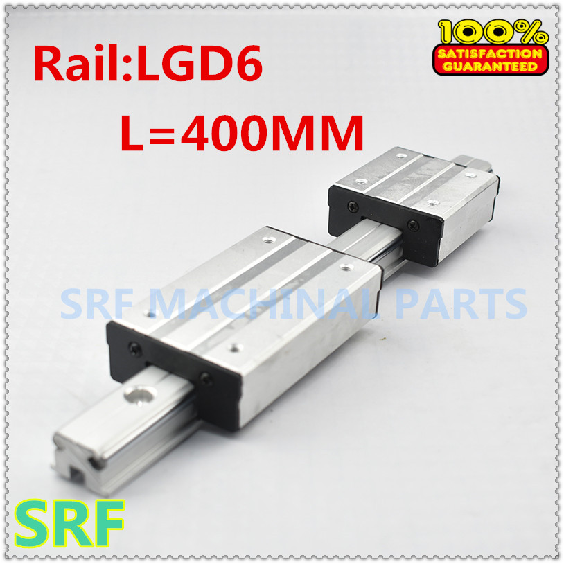 High Quality Double Axis External Guide Rail Shaft type linear guide LGD6 L=400mm with 4 wheels slide block for CNC partsHigh Quality Double Axis External Guide Rail Shaft type linear guide LGD6 L=400mm with 4 wheels slide block for CNC parts
