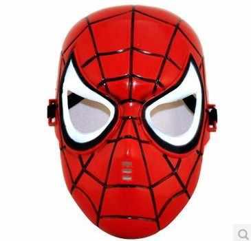 Superhero Halloween Maschera per Bambini e Adulti Avengers Marvel Captain America Spiderman Hulk Iron Man Batman Maschera Della Novità Gag Giocattoli