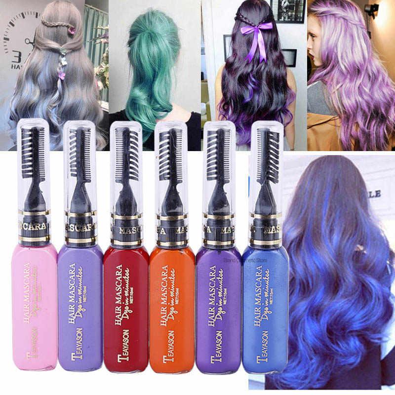 bb5435b1eab 13 Colors one-time Hair Color DIY Hair Chalk Dye Temporary Non-toxic Color
