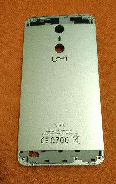 Kullanılan orijinal arka pil kutusu kapak Umi Max MTK6755M Octa çekirdek 5.5 inç FHD ücretsiz kargo