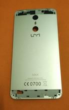 중고 오리지널 백 배터리 케이스 커버 Umi Max 용 MTK6755M Octa Core 5.5 인치 FHD 무료 배송