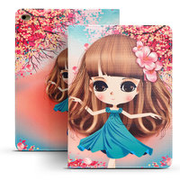 Cover Case For Funda Apple IPad Air 2 Coque Fashion Cartoon Ultrathin Shockproof Smart Tablet Case
