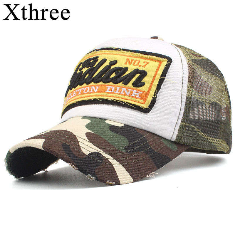 Xthree Summer Mesh Baseball Cap Men Hats For Women Snapback Gorras Hombre hats Casual Hip Hop Caps Dad Casquette svadilfari wholesale brand cap baseball cap hat casual cap gorras 5 panel hip hop snapback hats wash cap for men women unisex