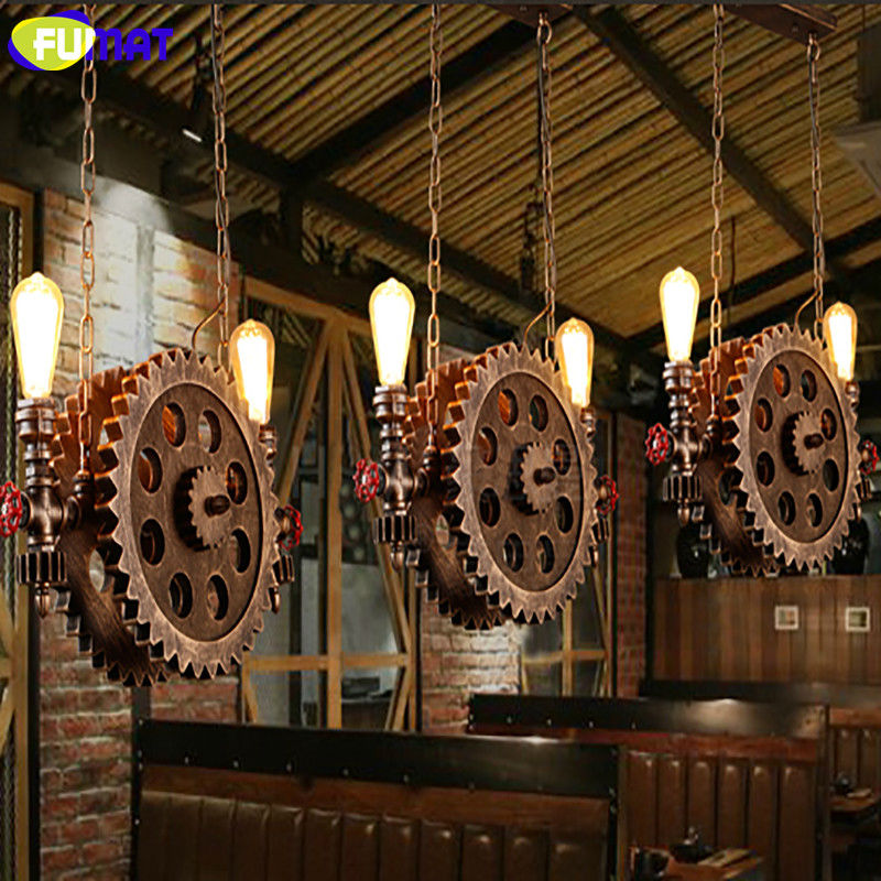 Gear Pendant Light 10