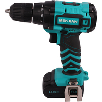 Mekkan Cordless Drill Screwdriver power tools Home DIY Renovation work Tool Set Rechargeable Lithium Battery Multi function