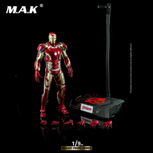 цены For Collection King Art 1:9 Diecast Alloy Iron Man Avenger Age of Ultr MK43 DFS009 Action Figure Model Toy for Fans Holiday Gift