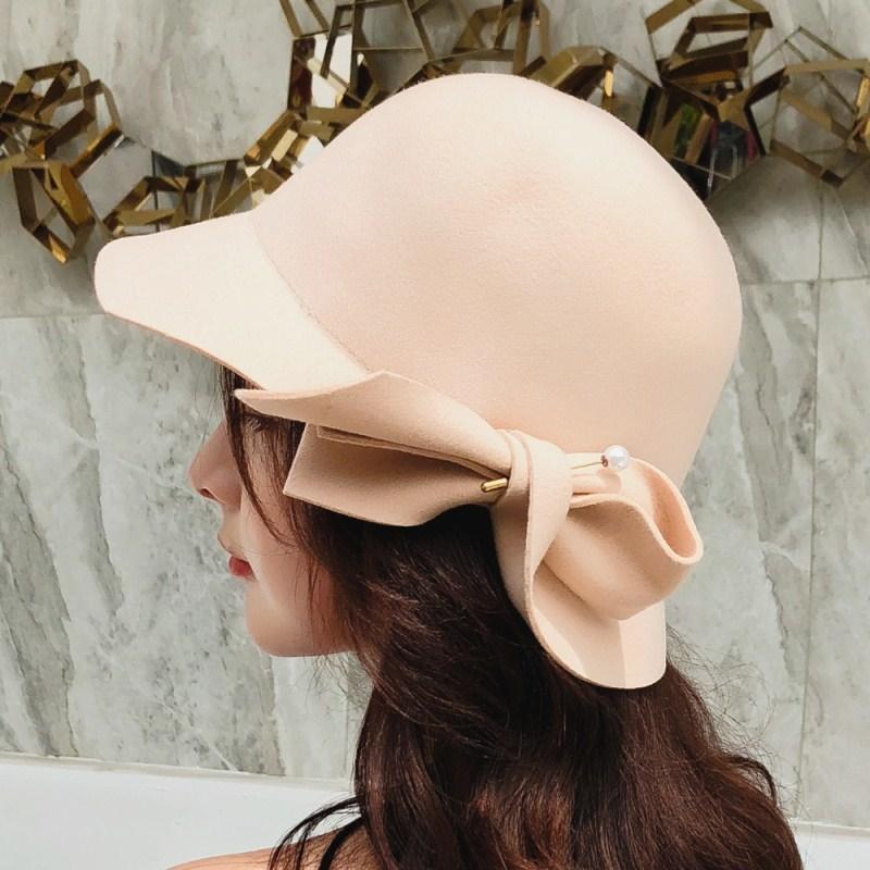 Women Fascinator Wool Felt Hat Women Pillbox Hats Ladies Vintage Cocktail Fashion Wedding Derby Fedora Chapeau Femme KRASTAL