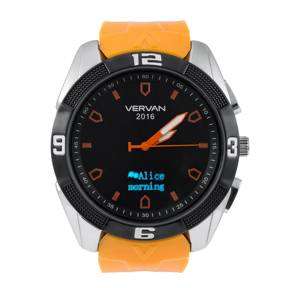 Bluetooth 4 0 Vervan V8 Waterproof Smart Watch Support Sedentary Lost Reminder font b Smartwatch b