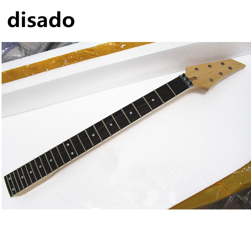disado 24 Frets maple Electric Guitar Neck rosewood white binding fingerboard inlay dots Guitar accessories parts h7 55w 12v xenon hid kit car headlight slim ballast xenon bulb