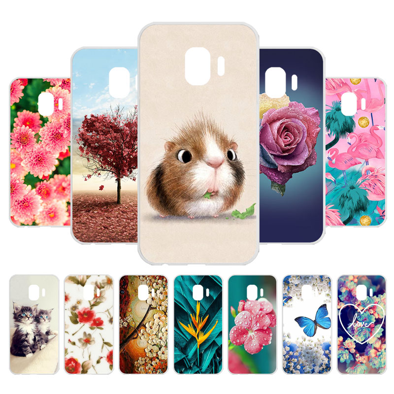 3D DIY For Coque Samsung Galaxy <font><b>J2</b></font> Core Case Silicone Soft TPU Case Cover for Samsung <font><b>J2</b></font> Core Case <font><b>J2</b></font> Core J260 J260F Fundas image