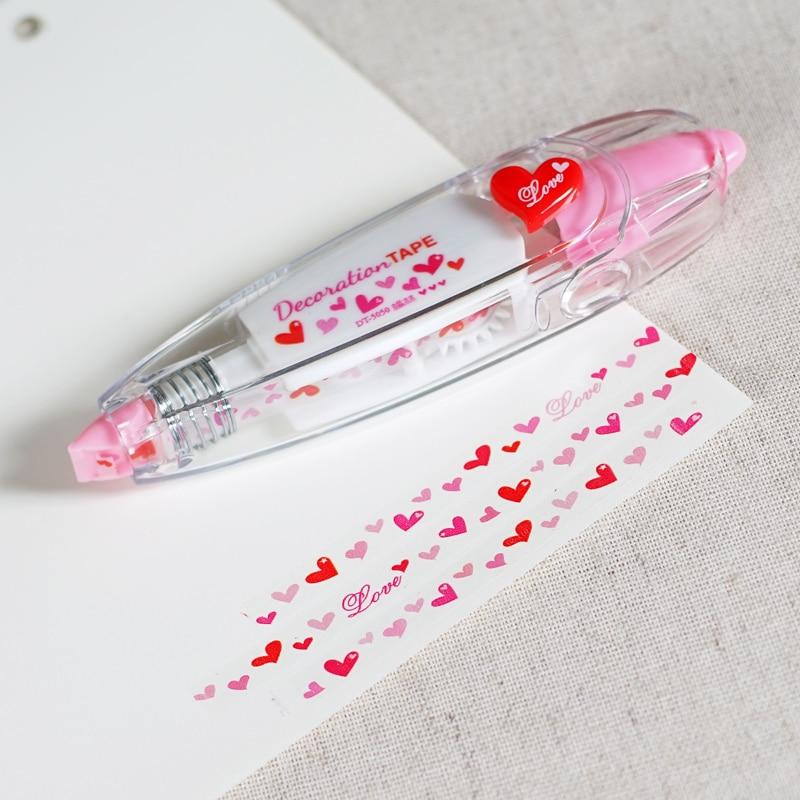 Korean Creative Stationery Novelty Decorative Correction Tape Notebook Diary Cute Decoration DIY Tool School & Office Supply