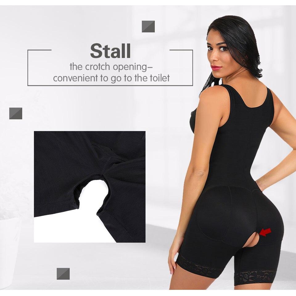Lover Beauty Full Body Shaper Slimming Underwear Women Plus Size Waist Trainer Bodysuit Shaper Modeling Fat Control Shapewear