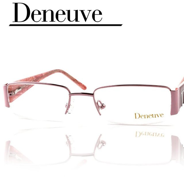 2016 diseño moda, lady style medio borde marcos ópticos, mujeres marco de las lentes, gafas de grau, compras libres para CPAP liberan el DN4425