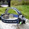 2000Lm Waterproof CREE XML T6 Zoom LED Farol Farol Head Lamp Luz elevada do lúmen Ajuste de Foco Para Bicicleta Camping Caminhadas