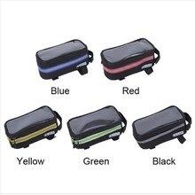 DUUTI Outdoor Cycling Mountain Road Bike Bag Bicycle Frame Tube Panniers Waterproof Touchscreen Phone Case Reflective Bag Baske