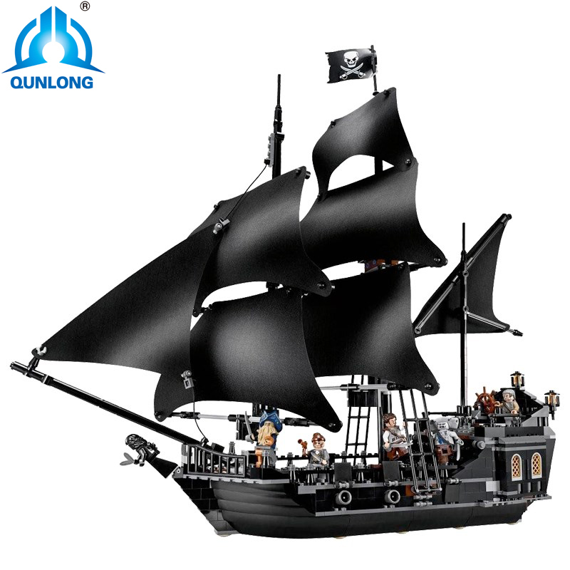 US $36 08 56% OFF|804Pcs 4184 Pirates Of The Caribbean The Black Pearl Ship  Model Building Kit Blocks Bricks Toy-in Blocks from Toys & Hobbies on