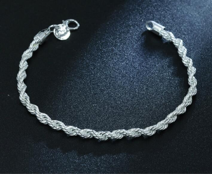 Designer Corrugated silver bracelet Valentine/'s gift Folded Handmade Gift for women Sparkle chunky chain silver bracelet Pleated