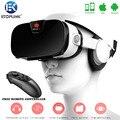 Fiit 3F VR Виртуальная Реальность Стерео Наушники 3D Очки Гарнитуры VR КОРОБКА Хелм 112FOV Частный Театр Игры Видео с Mocute пульт дистанционного управления