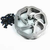 14ピースブランドnewhigh品質ステンレス鋼滑らかな表面ブレーキローター160ミリメートル6インチディスク84ボルト用bb5 bb7 mtb