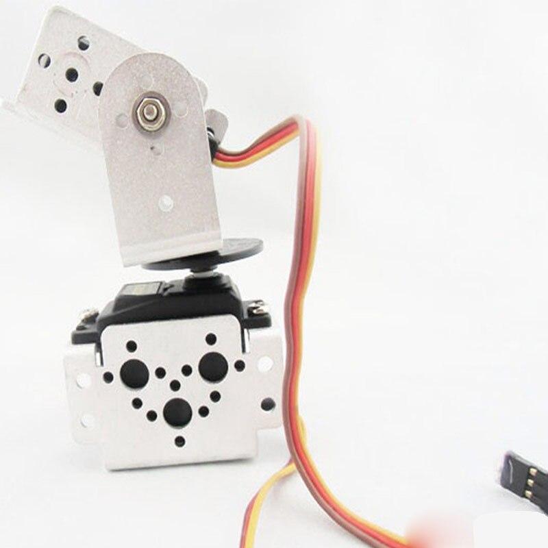 towerpro mg995 - Elecrow TowerPro MG995 Servo with 2 DOF Bracket Kit Compatible Sensor Mount kit for Arduino Robot Arm Legs DIY Smart Car Kits