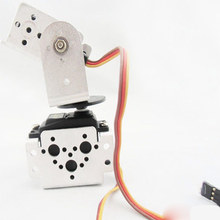 High Quality TowerPro MG995 Servo with 2 DOF Bracket Kit Compatible Sensor Mount kit Robot for Arduino Smart Car Kits Robot official doit 8 dof humanoid robot walking man bipedal robot steering gear bracket part robot arm hand robotic model robotics